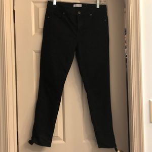 Loft black ankle jeans